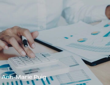 Ann Marie Puig discusses the importance of monitoring expenses and income in a small business