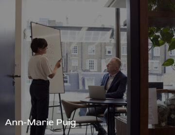 Ann Marie Puig discusses how women can find more success assuming business leadership roles