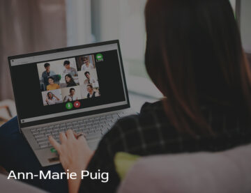 Ann Marie Puig discusses how to properly train employees to work from home